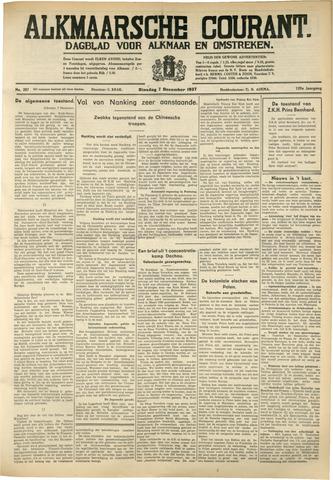 Alkmaarsche Courant 1937-12-07