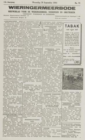 Wieringermeerbode 1944-09-20