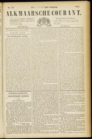 Alkmaarsche Courant 1885-07-19