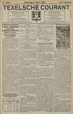 Texelsche Courant 1931-04-04