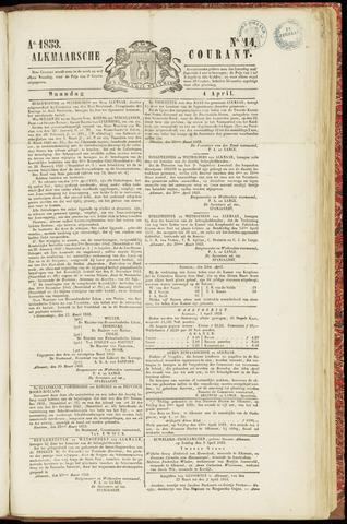 Alkmaarsche Courant 1853-04-04