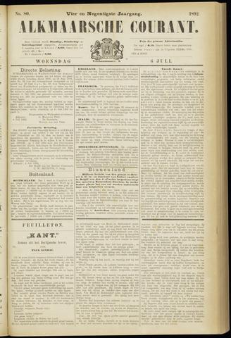 Alkmaarsche Courant 1892-07-06