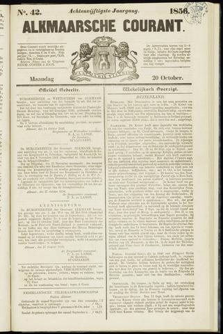 Alkmaarsche Courant 1856-10-20