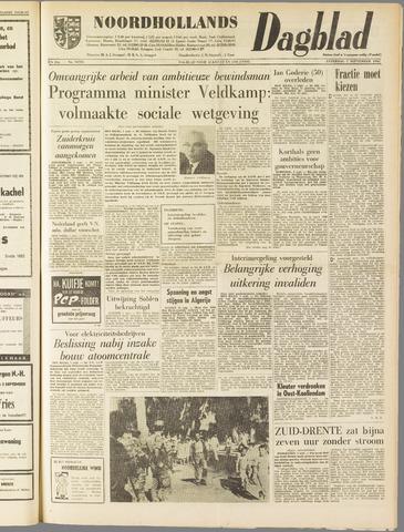 Noordhollands Dagblad : dagblad voor Alkmaar en omgeving 1962-09-01