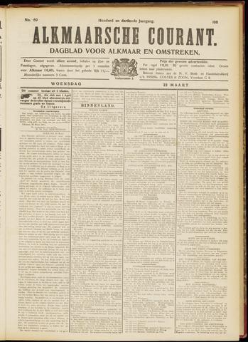 Alkmaarsche Courant 1911-03-22