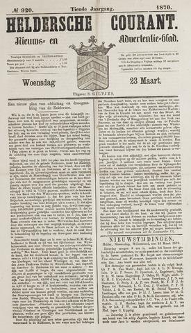 Heldersche Courant 1870-03-23