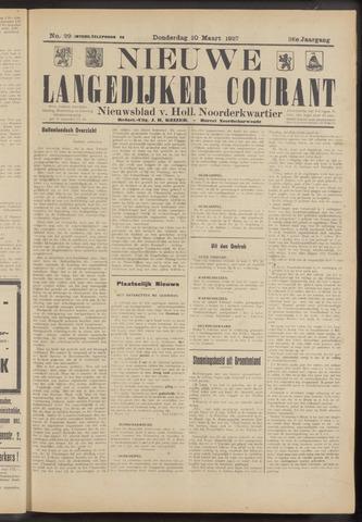 Nieuwe Langedijker Courant 1927-03-10