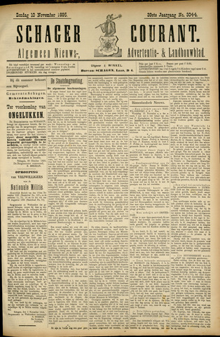 Schager Courant 1895-11-10