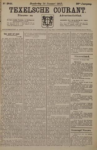 Texelsche Courant 1915-01-14