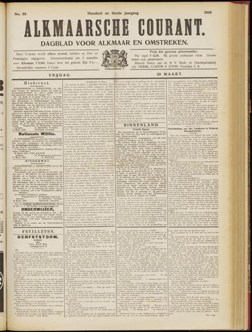 Alkmaarsche Courant 1908-03-20