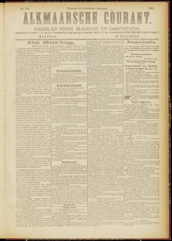 Alkmaarsche Courant 1915-12-27