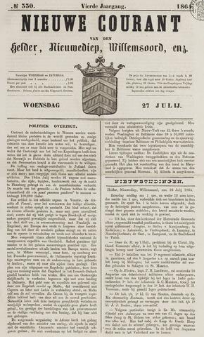 Nieuwe Courant van Den Helder 1864-07-27
