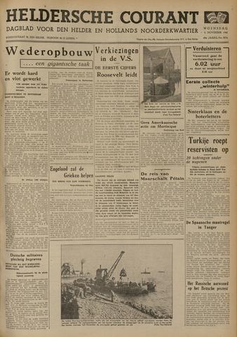 Heldersche Courant 1940-11-06