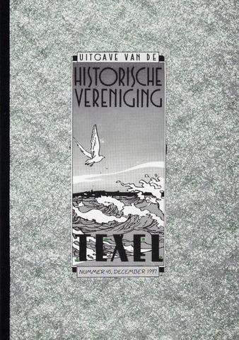 Uitgave Historische Vereniging Texel 1997-12-01