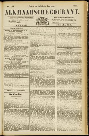 Alkmaarsche Courant 1885-11-13
