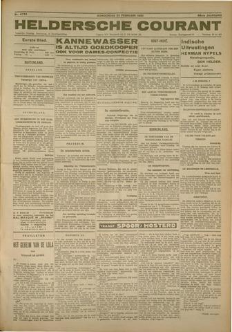 Heldersche Courant 1930-02-20