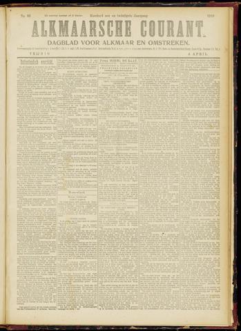 Alkmaarsche Courant 1919-04-04