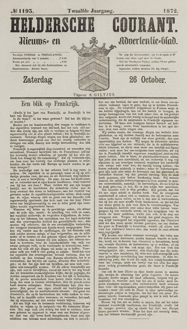 Heldersche Courant 1872-10-26