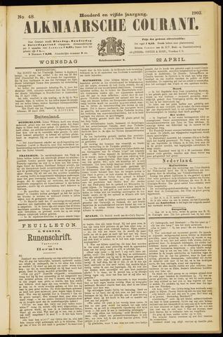 Alkmaarsche Courant 1903-04-22