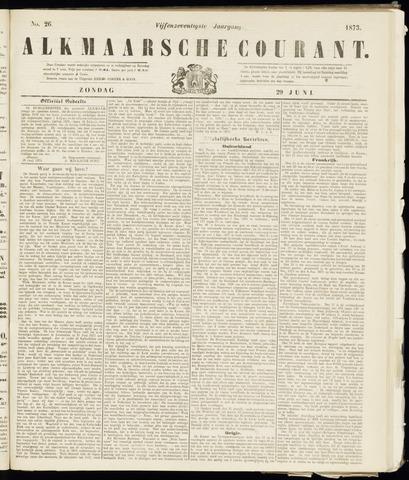 Alkmaarsche Courant 1873-06-29