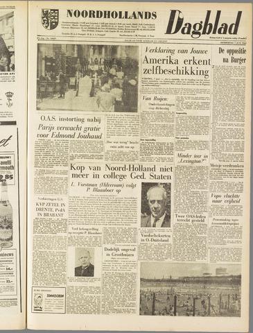 Noordhollands Dagblad : dagblad voor Alkmaar en omgeving 1962-06-07
