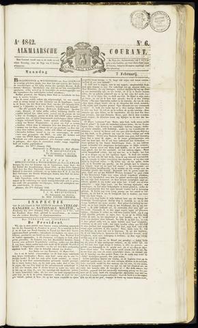 Alkmaarsche Courant 1842-02-07