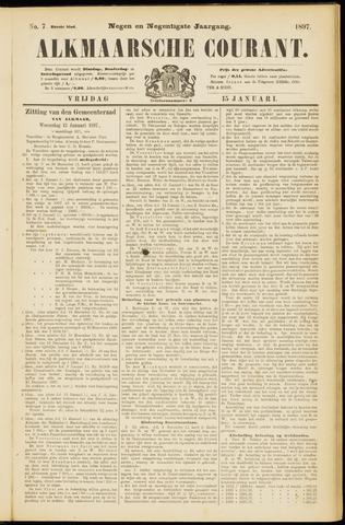 Alkmaarsche Courant 1897-01-15