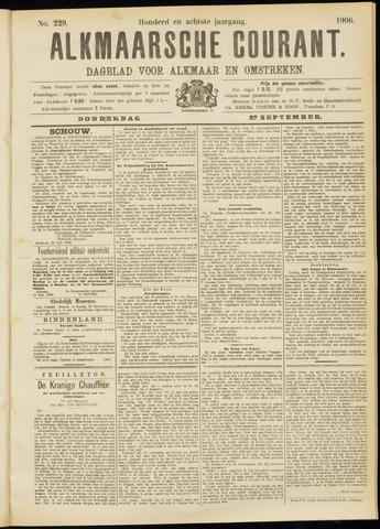 Alkmaarsche Courant 1906-09-27