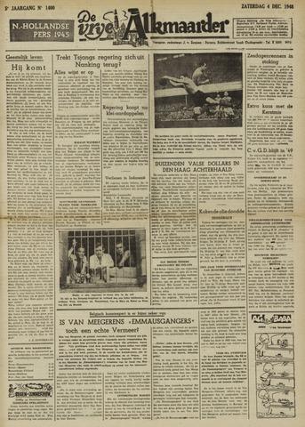 De Vrije Alkmaarder 1948-12-04