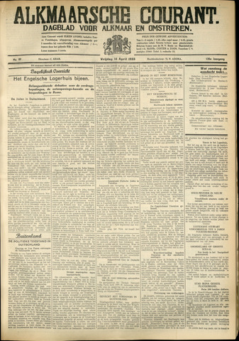 Alkmaarsche Courant 1933-04-14