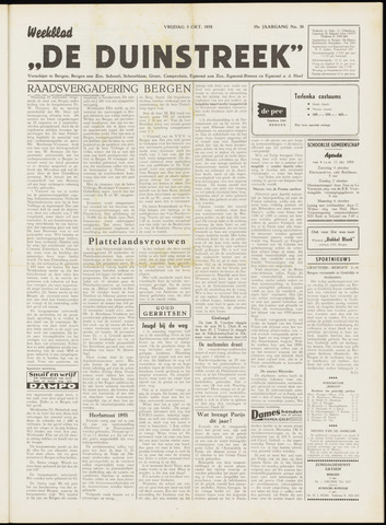 De Duinstreek 1958-10-03