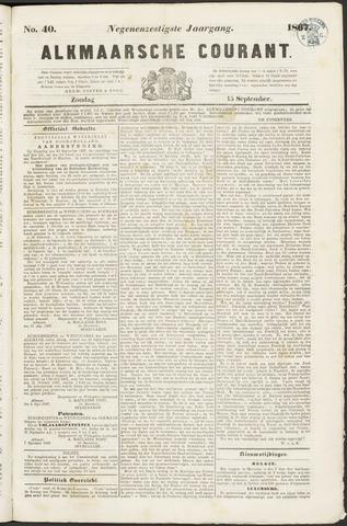 Alkmaarsche Courant 1867-09-15