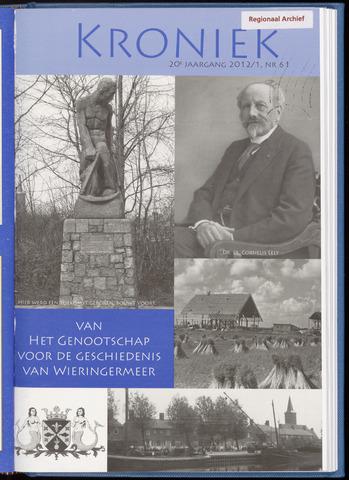 Kroniek Historisch Genootschap Wieringermeer 2012-04-01