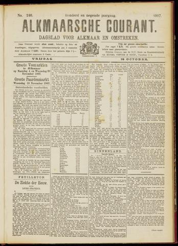 Alkmaarsche Courant 1907-10-18