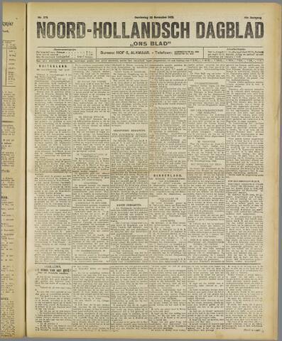 Ons Blad : katholiek nieuwsblad voor N-H 1922-11-28