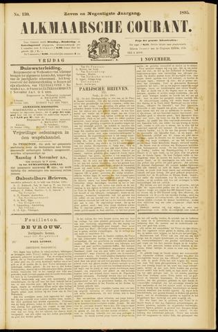 Alkmaarsche Courant 1895-11-01