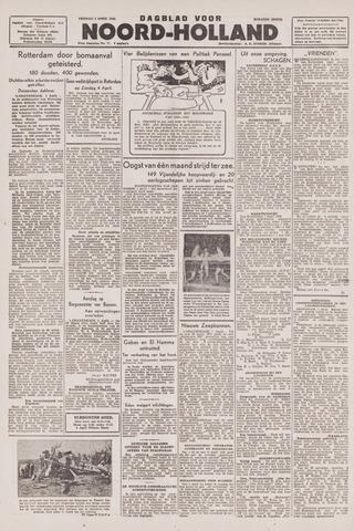 Dagblad Noord-Holland, Schager editie 1943-04-02