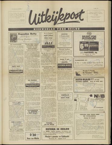 Uitkijkpost : nieuwsblad voor Heiloo e.o. 1971-04-07