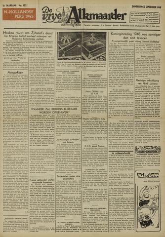 De Vrije Alkmaarder 1948-09-02