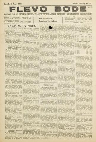 Flevo-bode: nieuwsblad voor Wieringen-Wieringermeer 1946-03-02