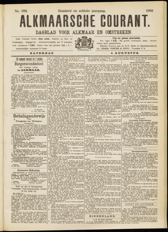 Alkmaarsche Courant 1906-08-04