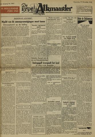 De Vrije Alkmaarder 1947-11-19