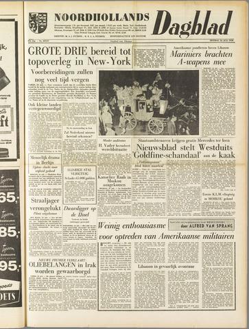 Noordhollands Dagblad : dagblad voor Alkmaar en omgeving 1958-07-22