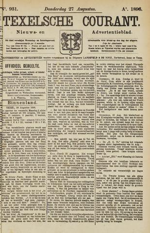 Texelsche Courant 1896-08-27