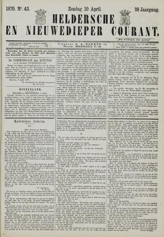 Heldersche en Nieuwedieper Courant 1870-04-10