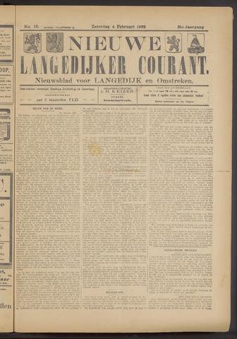 Nieuwe Langedijker Courant 1922-02-04