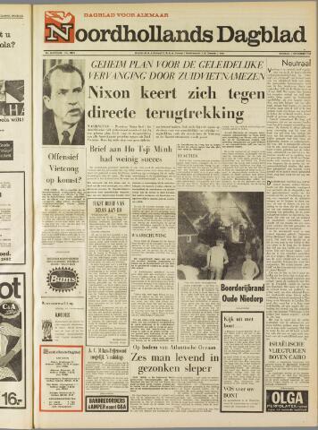 Noordhollands Dagblad : dagblad voor Alkmaar en omgeving 1969-11-04