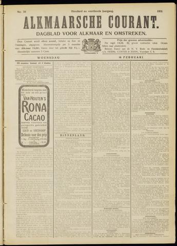 Alkmaarsche Courant 1912-02-14