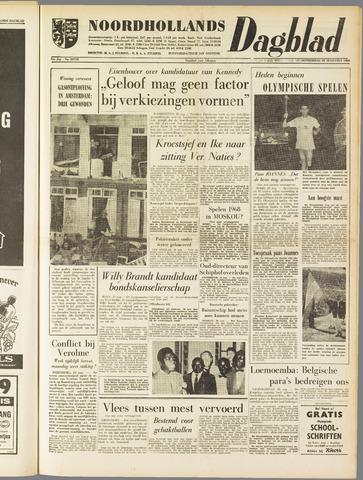 Noordhollands Dagblad : dagblad voor Alkmaar en omgeving 1960-08-25