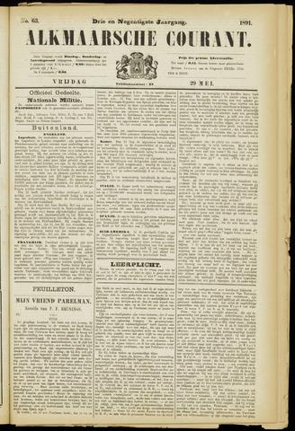 Alkmaarsche Courant 1891-05-29